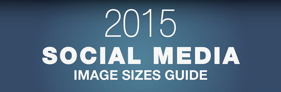 Get Visual in 2015: Infographic Makes Sizing Images for Social Media Easy