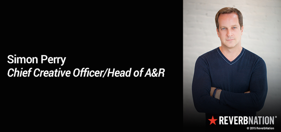 Simon Perry Promoted to Chief Creative Officer, Head of A&R at ReverbNation