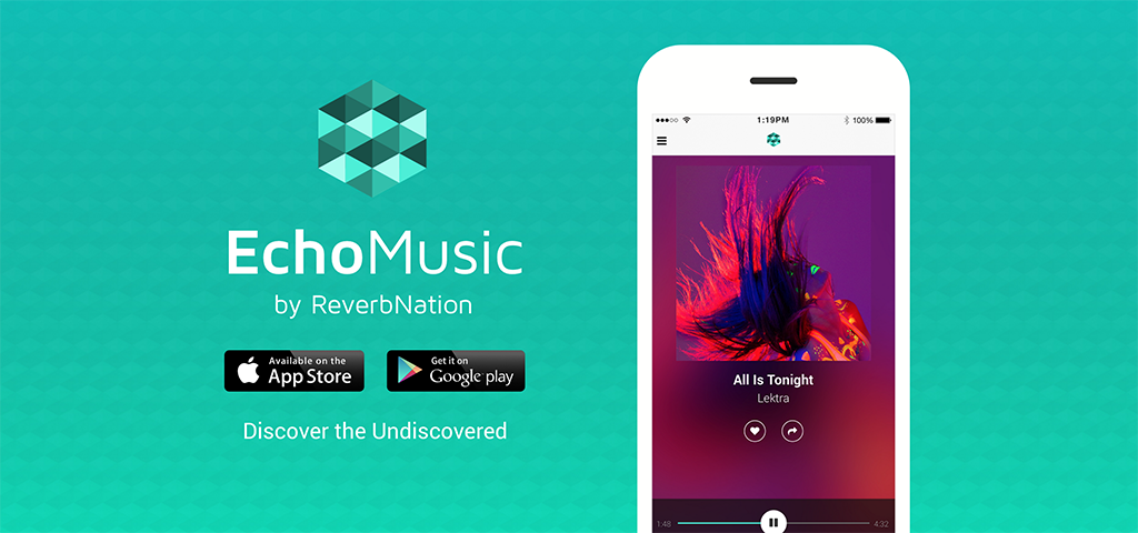 "Come ""Discover the Undiscovered"" with EchoMusic by ReverbNation"
