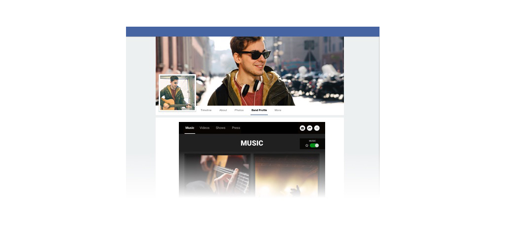 Introducing the New Band Profile App for Facebook