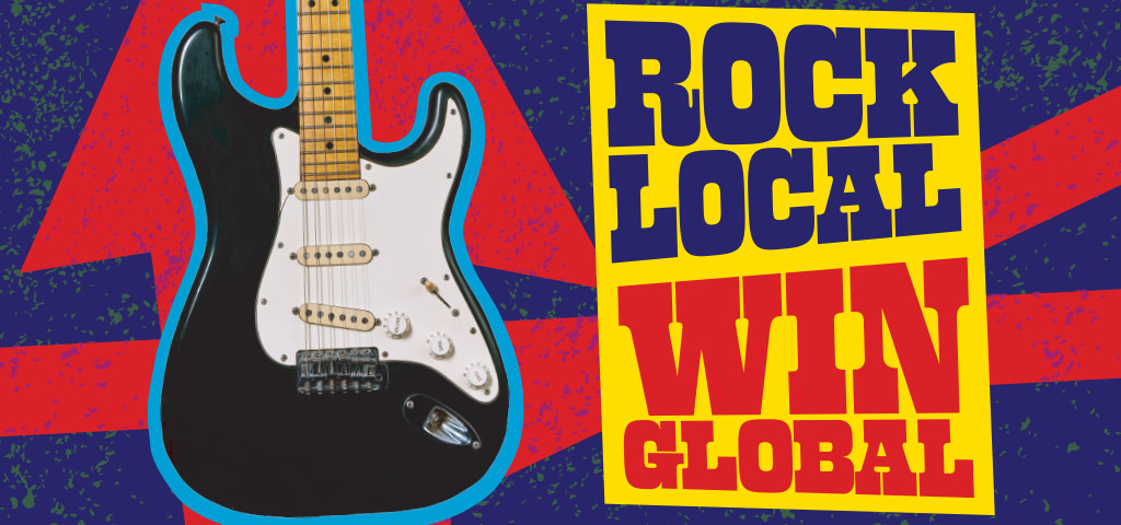 Hard Rock Rising 2016 — ROCK LOCAL/WIN GLOBAL