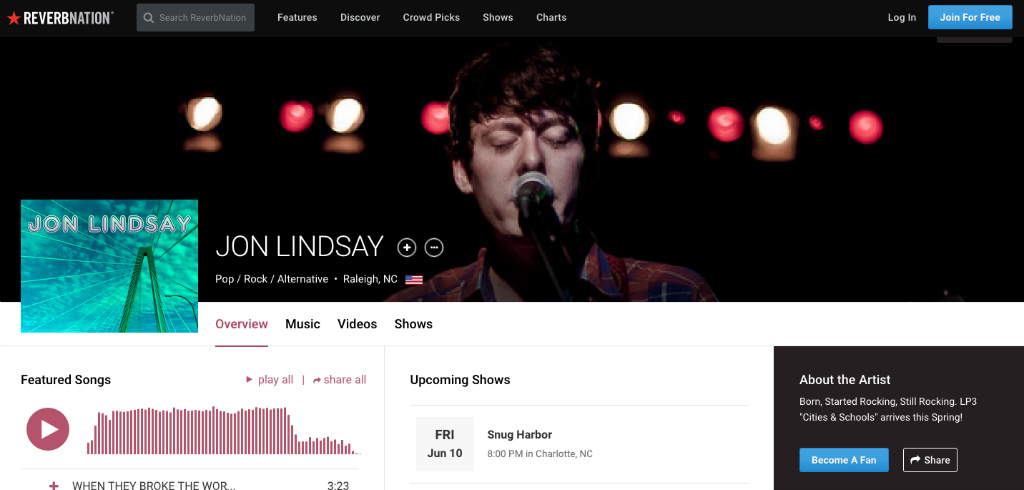Grab the Attention of Fans and Music Industry Pros with the New Artist Profile