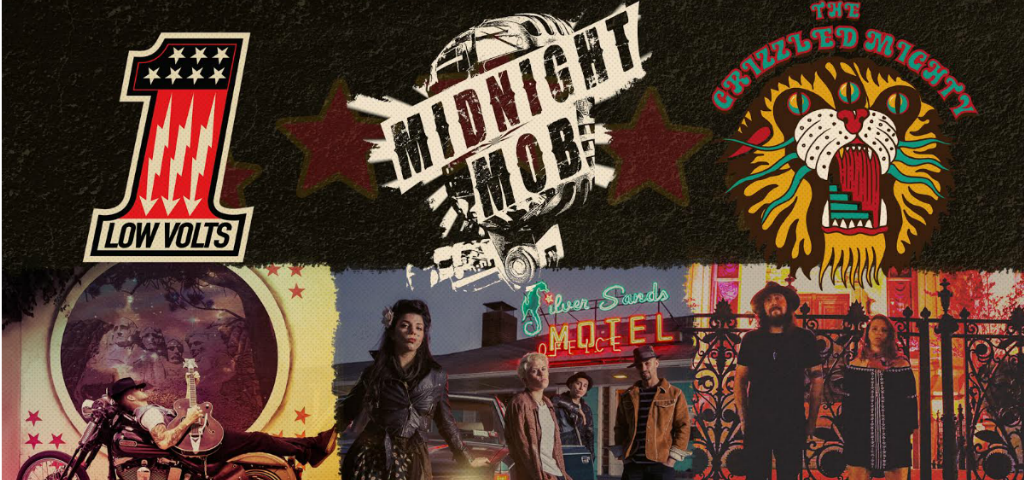 Road to Sturgis: Meet Midnight Mob, Low Volts, and The Grizzled Mighty