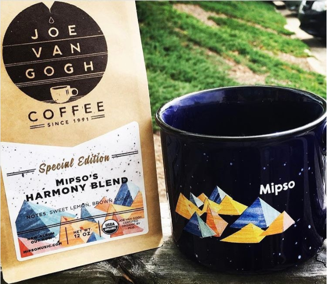 Music Marketing Inspo: Mipso's Custom Coffee Promotion