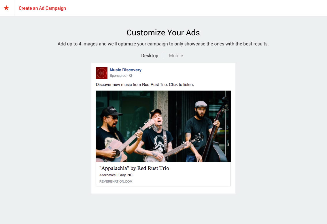 promote it preview your facebook ad
